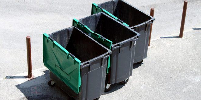 Typy wózków na odpady